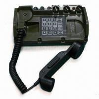 Field Telephone Set with 35km Communication Distance has Magnet and Common Battery Operating Modes Manufactures
