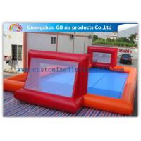 Custom Made Inflatable Soccer Field For Kids And Adults Inflatable Sports Games Manufactures