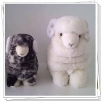 Buy cheap sheepskin  toys   material:sheepskin  shape:sheep  color:white,natural,grey,blue,orange etc. from wholesalers