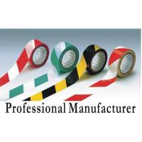 PVC Adhesive Warning Tape for warning steps or hazardous areas Manufactures