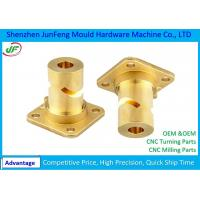 7602000010 HS Code CNC Turning Parts , Brass Cnc Turned Parts Manufactures