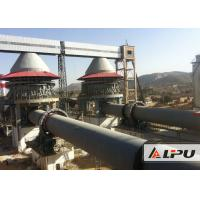 600 - 1000tpd Active Lime Rotary Kiln For Dolomite Calcination Dry And Wet Type Manufactures