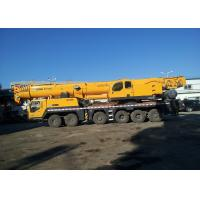 Durable 160Ton QY160K  Hydraulic Mobile Crane With LCD Display Manufactures
