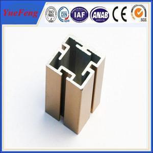 6000 Series aluminium extruded profile slot / OEM t slot aluminum extrusion factory Manufactures