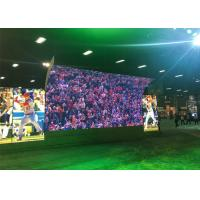 Waterproof  Outdoor Fixed LED Display For Football Field 4.81mm Pixel Pitch Manufactures