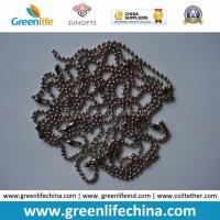 Chinese Manufacturer Supply 1.0mm-12mm Beaded Ball Shape Metal Chain Manufactures