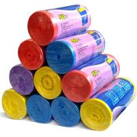 Eco Friendly Custom Trash Bags 10 Micron Thickness PP Plastic Material Manufactures