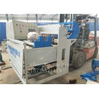 Low Carbon Hot Dipped Galvanized Wire Mesh Fence Machine Automatic For Anti Climb Fence Manufactures