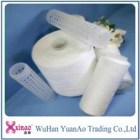 China Recycled High Tenacity Ring Spun Polyester Yarn Manufacturing Process 1.33D * 38mm on sale