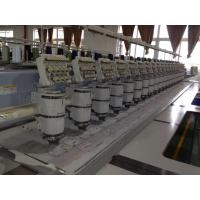 China Digital Used Multi Head Embroidery Machines , Commercial Embroidery Equipment on sale