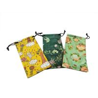 Natural Digital Pringting Glasses Pouch Case 100% Polyester Eco-friendly Manufactures
