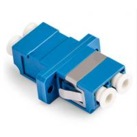 LC Duplex Fiber Optic Adapter Single Mode Small Size Large Capacity For CATV Manufactures