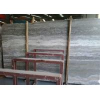 Beautiful Silver Travertine Floor Tile , Internal Silver Grey Stone Bathroom Tiles  Manufactures