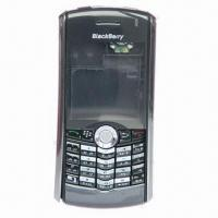 China Mobile Phone Housings for BlackBerry Pearl 8100, OEM/ODM Orders Accepted, Comes in Various Colors on sale