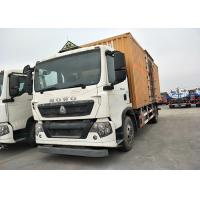 Buy cheap 4*2 7T SINOTRUK HOWO Small Box Truck with back door and single door open from wholesalers