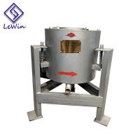 Vertical Centrifugal Coconut Oil Filtering Equipment 40 - 50kg / Batch Capacity Manufactures