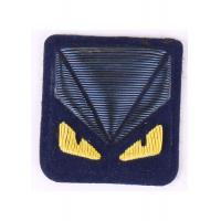 Navy Blue Embroidered Blazer Badges Machine Made Army Blazer Badges Manufactures