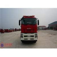 6x4 Drive Foam Rescue Fire Truck 257KW Power With Double Row Structure Cab Manufactures