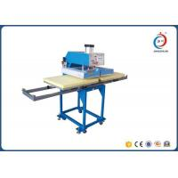 Quality Pneumatic Digital T Shirt Printing Press Machine Multicolor Double Station for sale