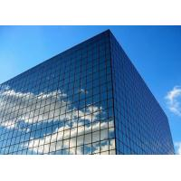 Curtain Wall Exterior Low E Insulated Glass , Energy Saving Low Emissivity Glass