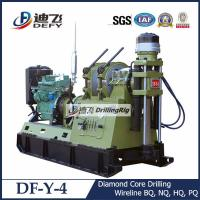 China DF-Y-4 rock core drilling machine with diamond bits on sale