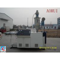 Quality Agricultural Plastic Pipe Extrusion Line , PVC Pipe Making Machine for sale