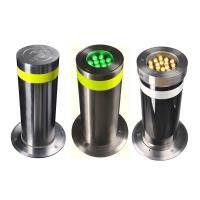 Polished Surface Electric Automatic Rising Bollards For Urban Transportation Manufactures