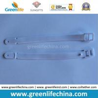 New Deisgn Top Quality White PVC Luggage Tag Loop Tape Manufactures
