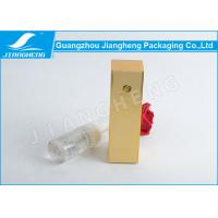 China Cosmetic Custom Paper Box Packaging Gold Stamping Paper Gift Box ROCH Certification on sale