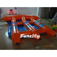 Towable 0.9 PVC Tarpaulin Inflatable Fly Fish For Kids And Adults Manufactures