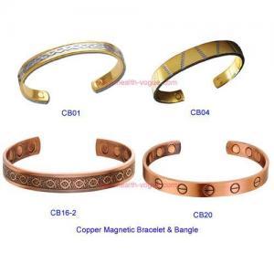 Copper magnetic bracelet bangle Manufactures