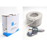 China UTP Cat 6 Ethernet Cables Bulk 100m 24AWG Full Copper Wire UTP Pull Box , GREY wholesale
