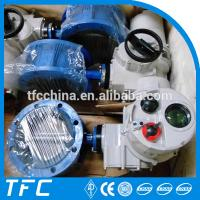 China electric motorized butterfly valve, motorized valve actuator width low pressure steam service on sale