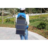 Portable Solar Cell Phone Charger / Waterproof Portable Solar PanelFolding Bag Manufactures