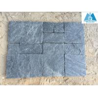 Quality Black Quartzite Pavers Set Patio Flooring Stone Paving Stone Pavement Flooring Covering for sale