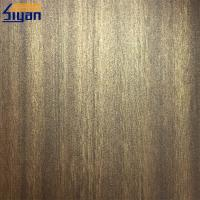 China Durable Decorated Embossing PVC Lamination Film For Door / Profile on sale