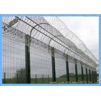 Highest Level Security  Clear View Fence Anti - Climb 358/3510 Fence Panel Manufactures