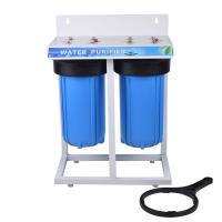 Blue Color Home Water Filter , Under Sink Water Filter System PP Material Manufactures