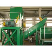 Waste Plastic Film Recycling Machine , PP PE Film Washing Line Hot Air Drying Manufactures