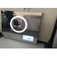 Rectangle Frameless Mirror TV Polished 19 Inch 1920 X 1080 Resolution Manufactures