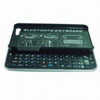 Sliding Bluetooth Keyboard Case for iPhone 5, with Backlight Manufactures