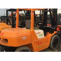 China Second Hand Forklifts TCM FD50 used japan forklifts cheap for sale 5 ton Counterbalanced Diesel Forklift on sale