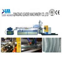 Quality soft pvc steel wire reinforced spiral hose extrusion line for sale