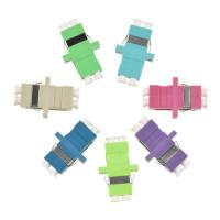 China Ceramic Sleeve Fiber Optic Adapter , FC Fiber Optic Cable Adapter OM4 / OM5 Colors on sale