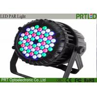 Waterproof High Power LED Par Stage Lights 54*3W RGB 3 In 1 DMX Control Manufactures