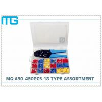 1012pcs Insulated Spade Electrical Terminal Kit , Heat Shrink Wire Connectors Kit Manufactures
