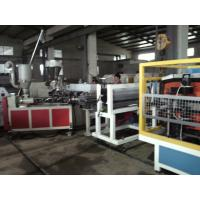 Corrugated Roofing PVC Sheet Extrusion Line Anti Corrosion Stable Traction Manufactures