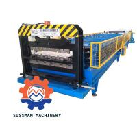 China Metal Galvanized Aluminum Roof Panel Roll Forming Machine With Seam Boltless on sale