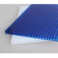 China UV coated clear lowes polycarbonate panels roofing sheet on sale