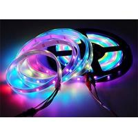 Non Waterproof 5m Led Multi Color Changing Rope Lights 16.4ft 150 WS2812B White PCB